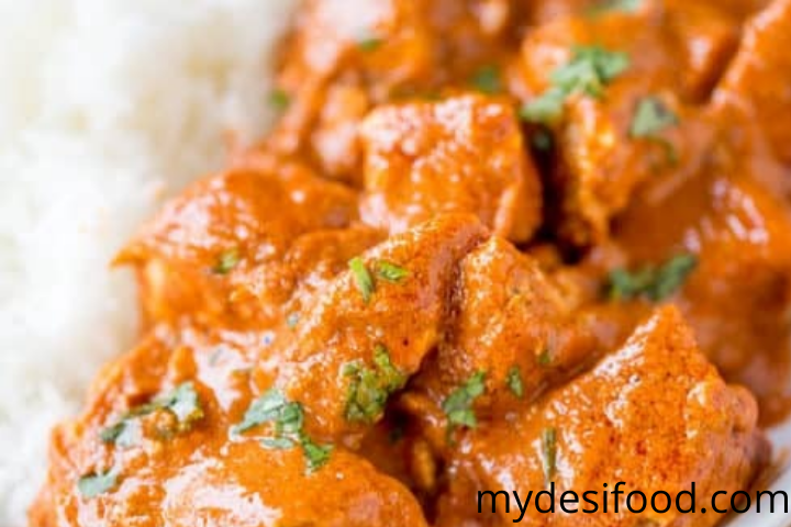 butter chicken slow cooker recipe easy