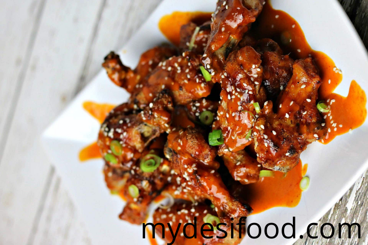 curried chicken wings recipe