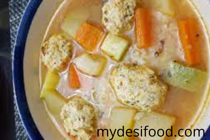 mexican chicken meatball soup